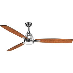 "Gaze Collection 60"" LED Three-Blade Ceiling Fan"