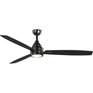 "Gaze Collection 60"" LED 3-Blade Ceiling Fan"