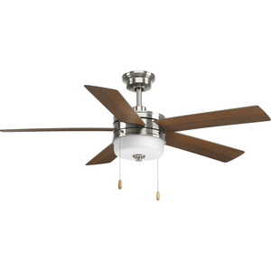 "Verada Collection 52"" Five-Blade Ceiling Fan with LED Light"