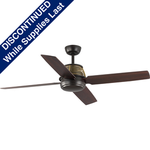 """Shaffer Collection 56"""" Four-Blade 56"""" Ceiling Fan"""