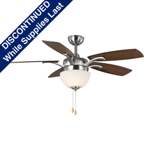 """Olson Collection Five-blade 52"""" Ceiling Fan with LED Light Kit"""