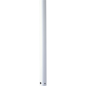 AirPro Collection 60 In. Ceiling Fan Downrod in White