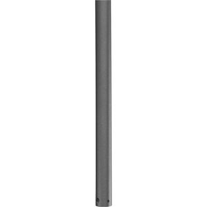 AirPro Collection 72 In. Ceiling Fan Downrod in Graphite