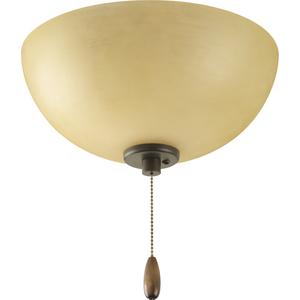 Bravo Collection Three-Light Ceiling Fan Light