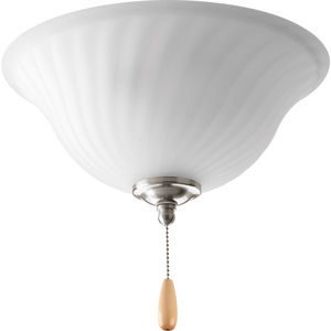 Kensington Collection Three-Light Ceiling Fan Light