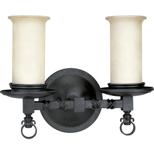 Santiago Collection Two-Light Bath & Vanity