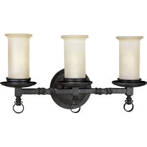 Santiago Collection Three-Light Bath & Vanity