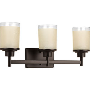 Alexa Collection Three-Light Bath & Vanity