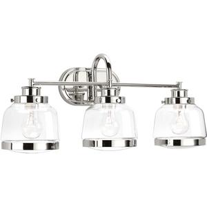 Judson Three-Light Bath & Vanity