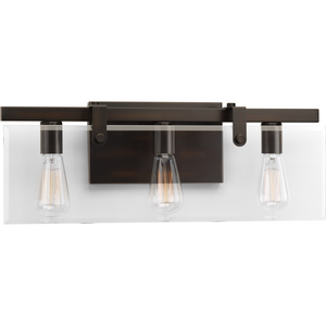 Glayse Three-Light Bath & Vanity