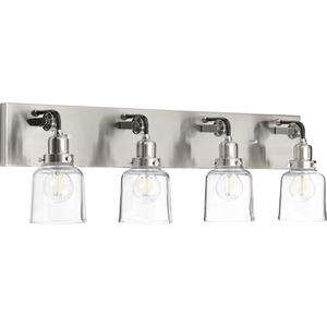 Rushton Collection Four-Light Bath & Vanity