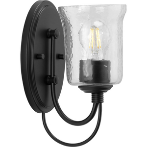 Bowman Collection Black One-Light Bath