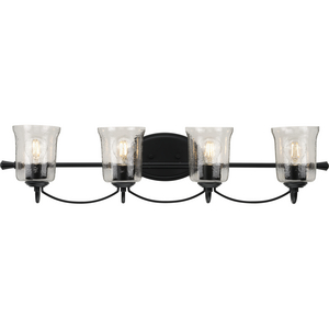 Bowman Collection Black Four-Light Bath