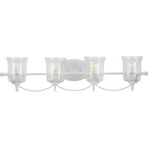 Bowman Collection Cottage White Four-Light Bath