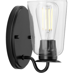 Durrell Collection Black One-Light Bath