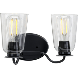 Durrell Collection Black Two-Light Bath
