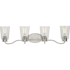 Durrell Collection Brushed Nickel Four-Light Bath