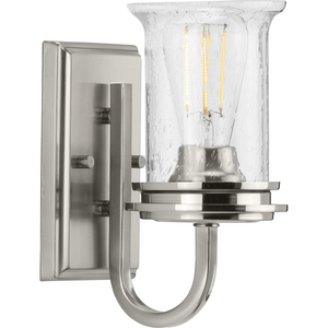 Winslett Collection Brushed Nickel One-Light Bath