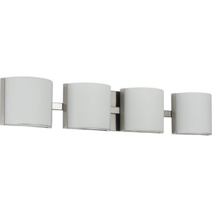 Arch LED Collection Brushed Nickel Four-Light LED Bath