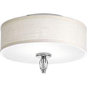 Status Two- Light Flush Mount