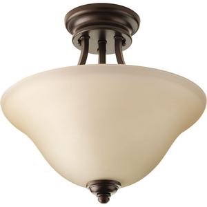 "Spirit Collection Two-Light 13-1/8"" Semi-Flush Mount"
