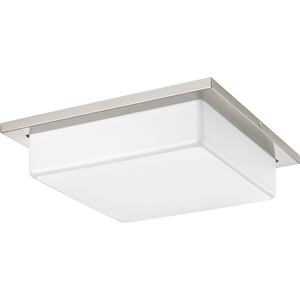 "Transit Collection Two-Light 14"" LED Flush Mount"
