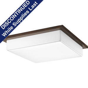 "Transit Collection Three-Light 18"" LED Flush Mount"