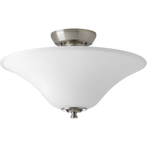 "Cantata Collection Two-Light 15-3/4"" Semi-Flush Convertible"