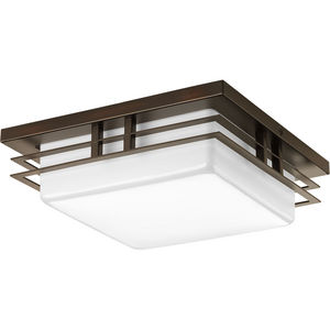 "Helm Collection One-Light 11"" LED Flush Mount"