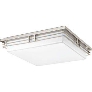 "Helm Collection Three-Light 18"" LED Flush Mount"