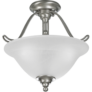 "Avalon Collection 14-1/2"" Three-Light Close-to-Ceiling"