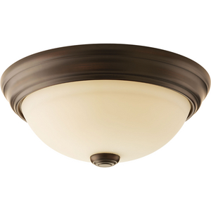 "Spirit Collection 10-3/4"" One-Light Flush Mount"