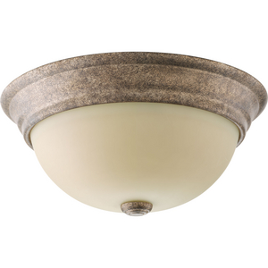 "Spirit Collection Two-Light 12-3/4"" Flush Mount"
