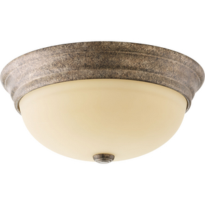 "Spirit Collection Three-Light 14-5/8"" Flush Mount"