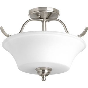 "Applause Collection Two-Light 15-3/4"" Semi-Flush Convertible"