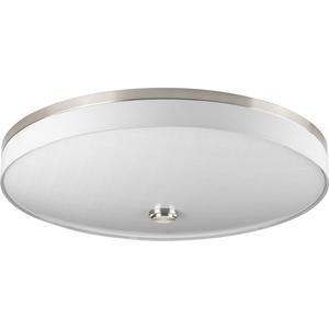 "Weaver LED Collection Three-Light LED 22"" Flush Mount"