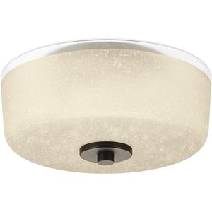 "Alexa Collection Two-Light 12-1/4"" Flush Mount"