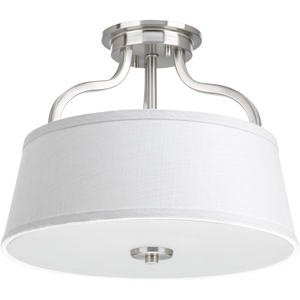 "Arden Collection Two-Light 14"" Semi-Flush Convertible"