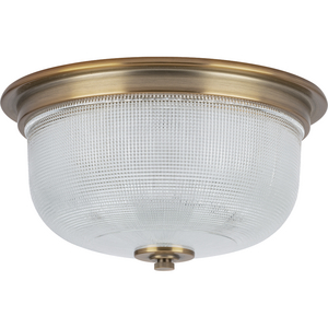 "Archie Collection Two-Light 12-3/8"" Close-to-Ceiling"