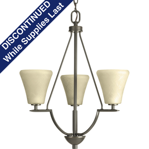 Bravo Collection Three-Light Foyer Chandelier