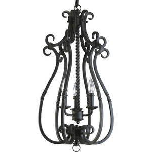 Santiago Collection Three-Light Foyer Pendant