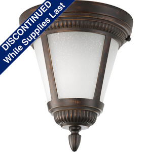 """Westport CFL Collection One-Light 9-1/8"""" CFL Close-to-Ceiling"""