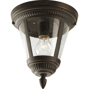"""Westport Collection One-Light 9-1/8"""" Close-to-Ceiling"""