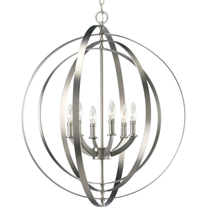 Equinox Collection Six-Light Foyer Pendant