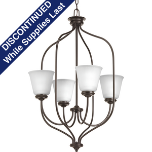 Keats Collection Four-Light Foyer Chandelier