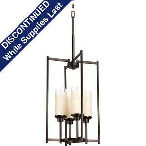 Alexa Collection Four-Light Foyer Chandelier