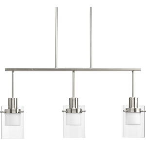 Moderna Collection Three-Light LED Linear Chandelier