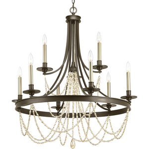 Allaire Collection Nine-Light Chandelier