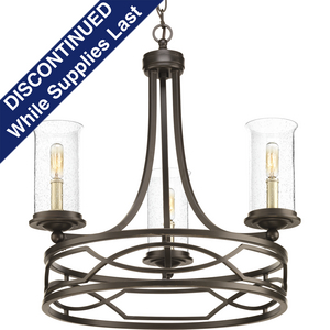 Soiree Collection Three-Light Chandelier