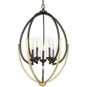 Evoke Collection Five-Light Chandelier